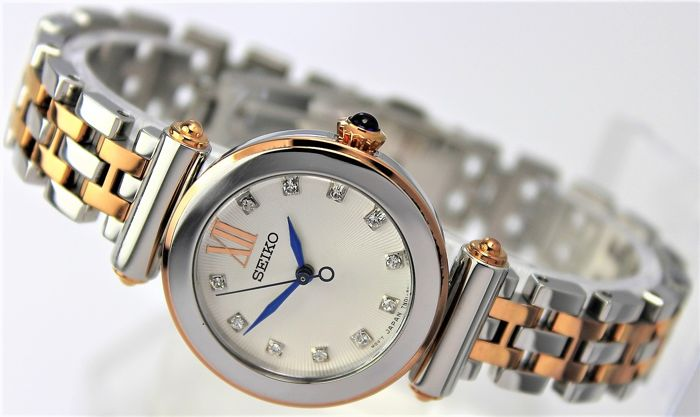 Seiko - Crystals 'NO RESERVE PRICE'  - Rose Gold Plated Two Tone  - Dames - 2011-heden