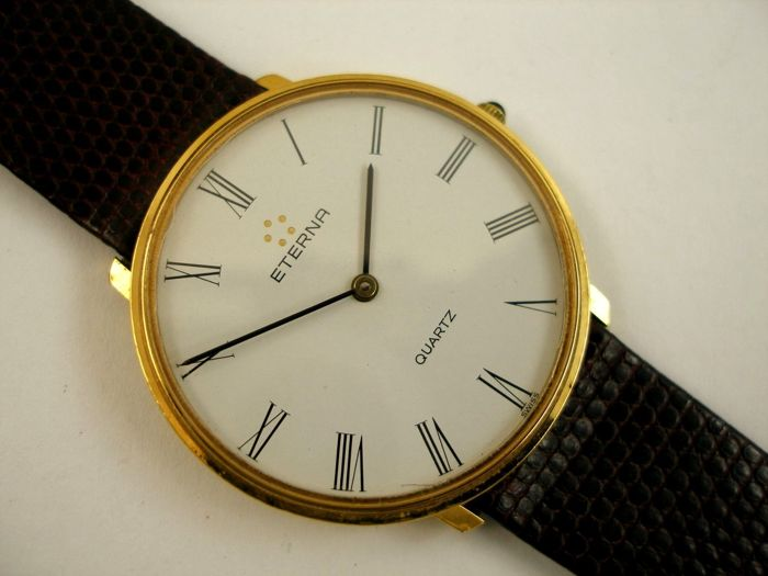 "Eterna - Bicolor Quartz ""NO RESERVE"" - 121.6128.25 AG - Dames - 1980-1989"