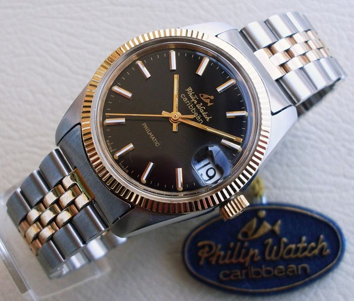 Philip Watch - Caribbean Philmatic - NOS   - Herren - 1970-1979