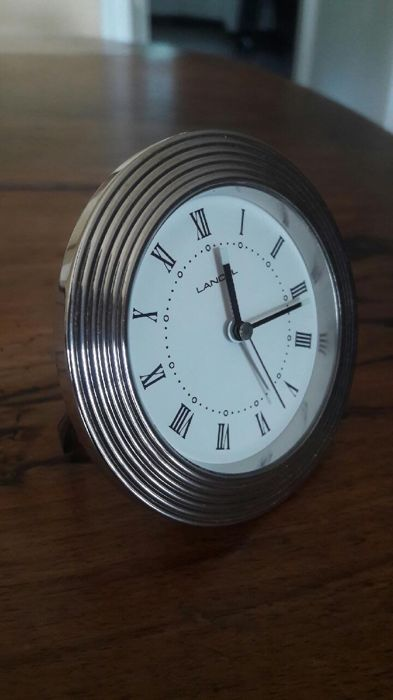 Travel clock - Steel (stainless) - 21st century