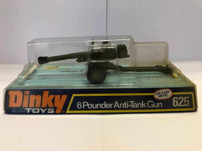 Dinky Toys - 625 - 654 - 699 - Tanks and anti-tank cannon 6