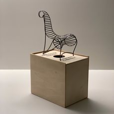 André Dubreuil - Vitra Design Museum - Miniatures Collection - Chair, Scale model