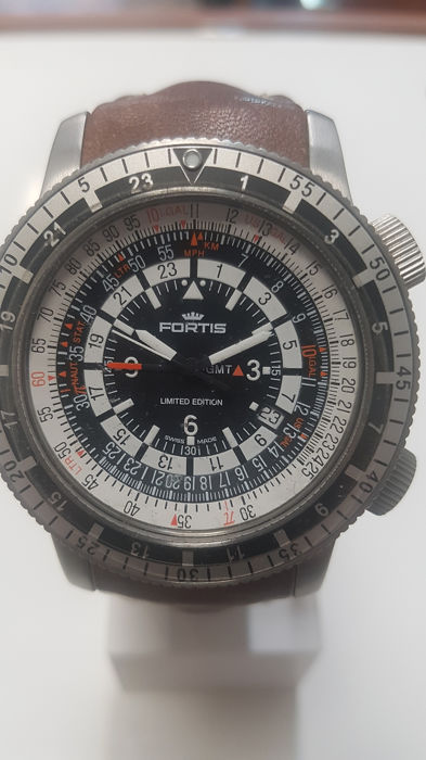 Fortis - B 47 Calculator GMT - 669 10 31 L16 - Herre - 2012
