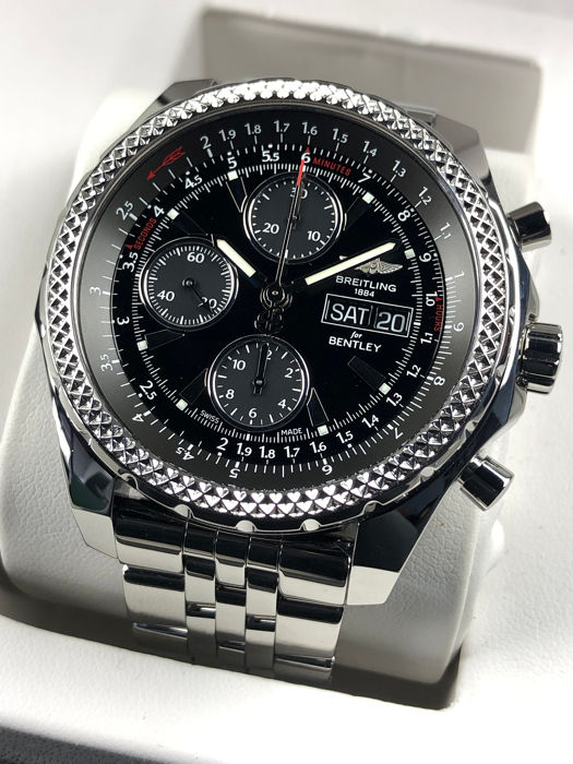 Breitling For Bentley >> Breitling Bentley Gt Chronograph Automatic Special Edition A13362 Men 2000 2010 Catawiki
