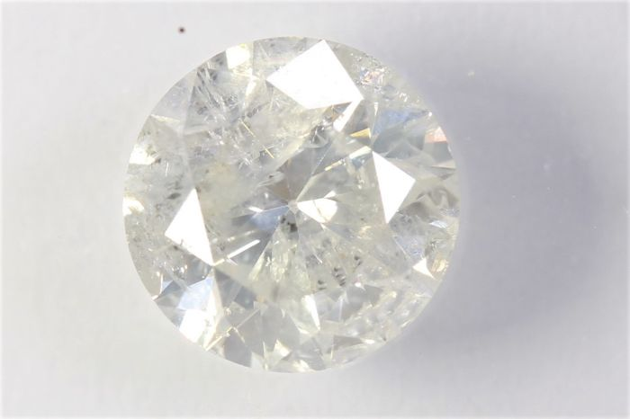 Diamond - 1.01 ct - Brilliant - P2 - IGI Certificate
