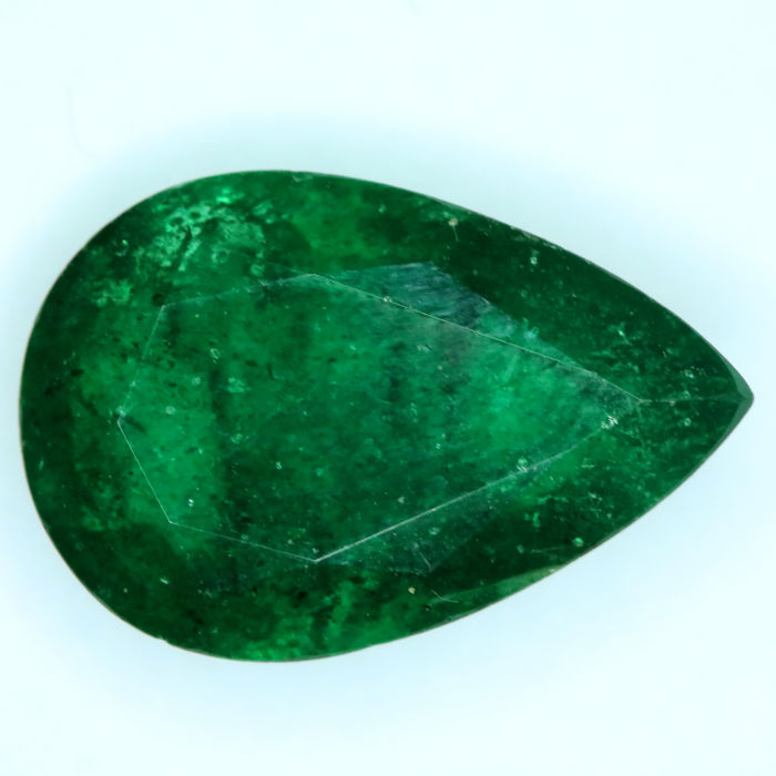 1 pcs  Emerald - 4.09 ct