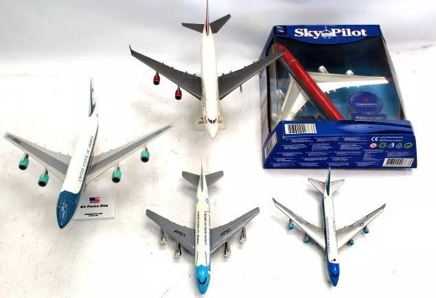 Virgin Atlantic United States of America - Five Model Planes - Diecast (metaal)