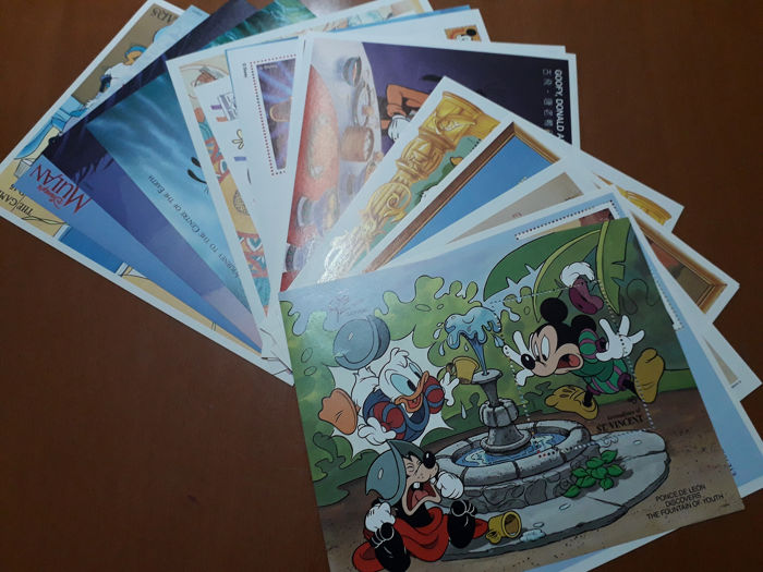 Wereld 1972/1992 - Disney Stamps Collection 2