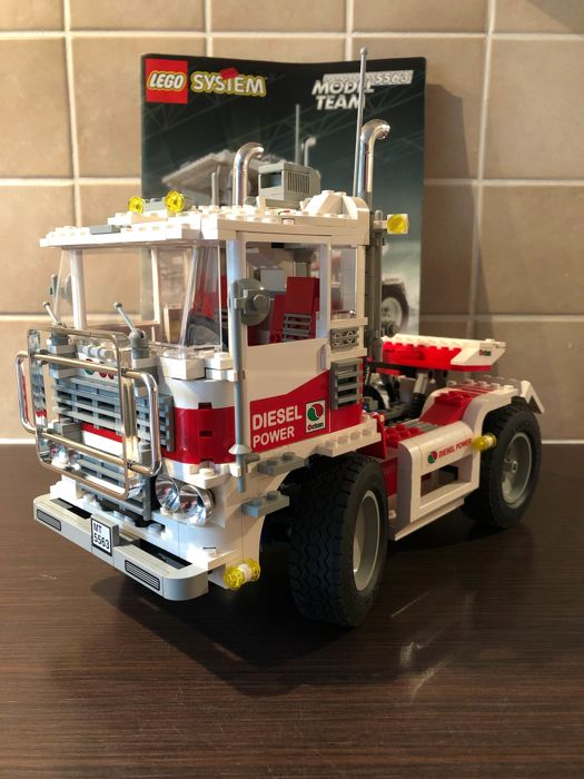 LEGO - Model Team - - 5563 - Car Racing Truck - 1990-1999 - Denmark