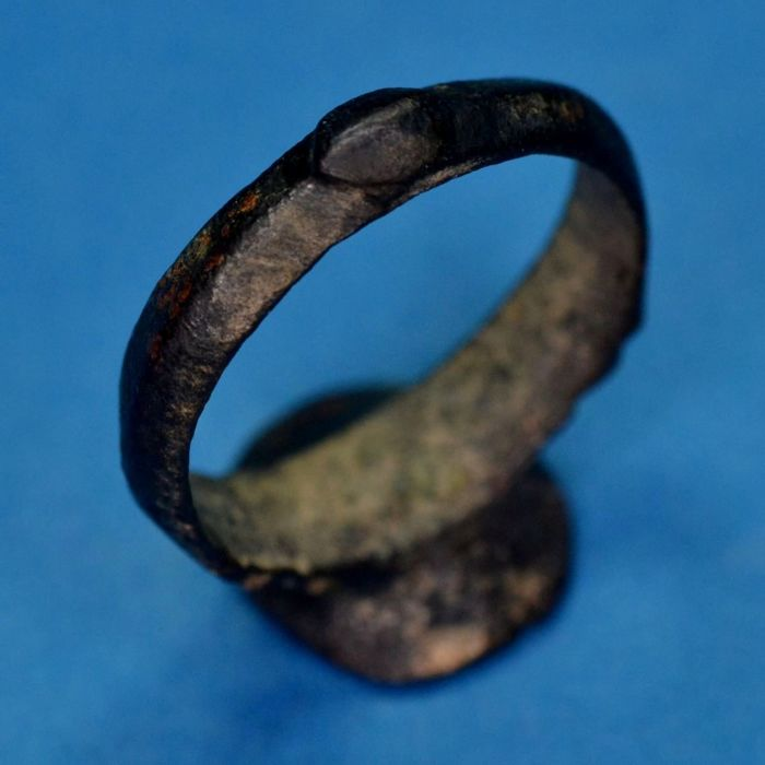 Reasonable Price Ancient Bronze Ring. a7.7