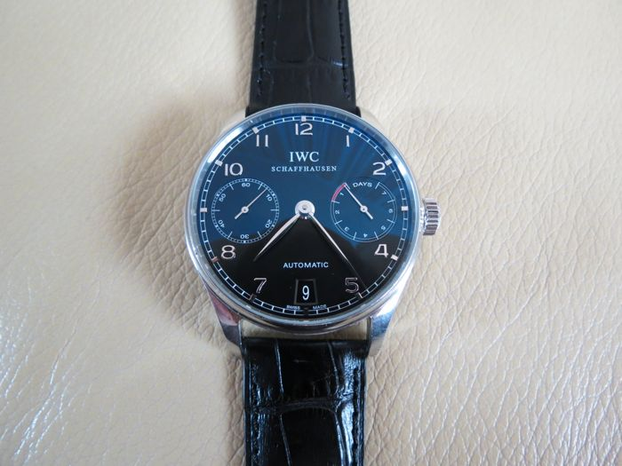 IWC - Portuguese 7 Days  - IW50010 - Heren - 2000-2010