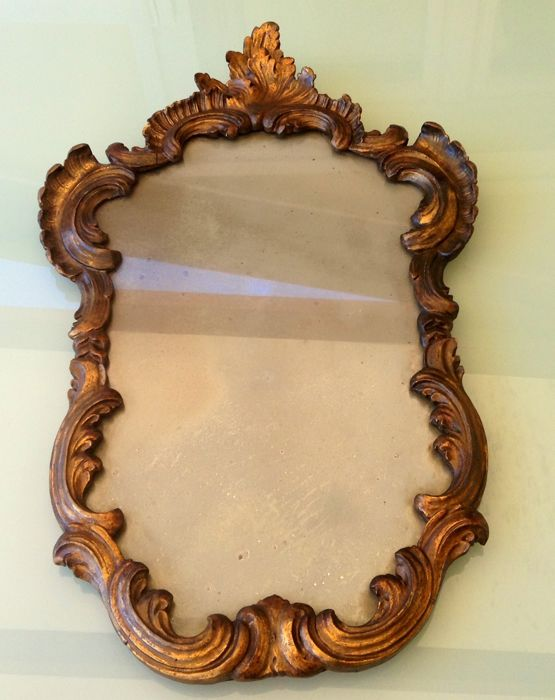 Alidade, Overmantel mirror - Wood - Late 19th century