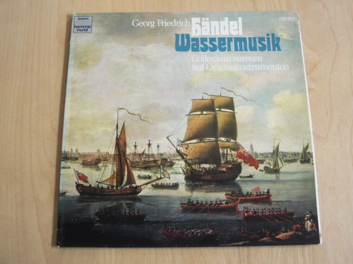 Great albums from composers at the Baroque period - CD's, LP's - 1960/2011