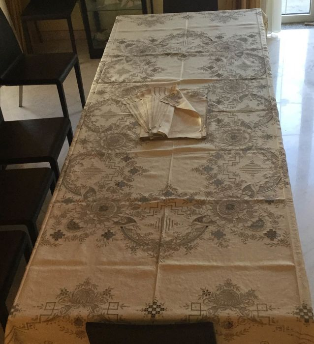 Nappe, Serviette de table - Lin