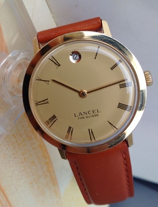 LANCEL Dato - Swiss made - Herren - 1970-1979