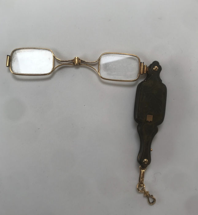 Spectacles - .750 (18 kt) gold - France - Late 19th century