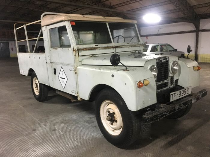 Land Rover - 107 Series I Pick Up  - 1956