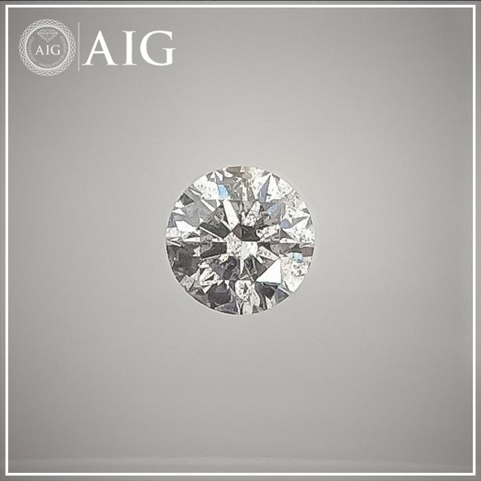 Diamante - 0.31 ct - Redondo - F - SI3