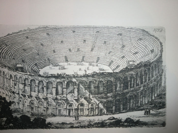 Giovanni Battista Piranesi (1720-1778) - Giovan Battista Piranesi - Arena di Verona