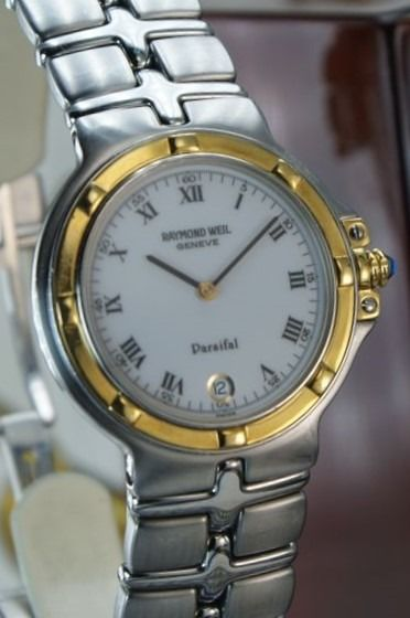 "Raymond Weil Geneve - Collection: ""Parsifal"" 18kt Gold/Steel  - Homem - Luxury  Swiss watch"
