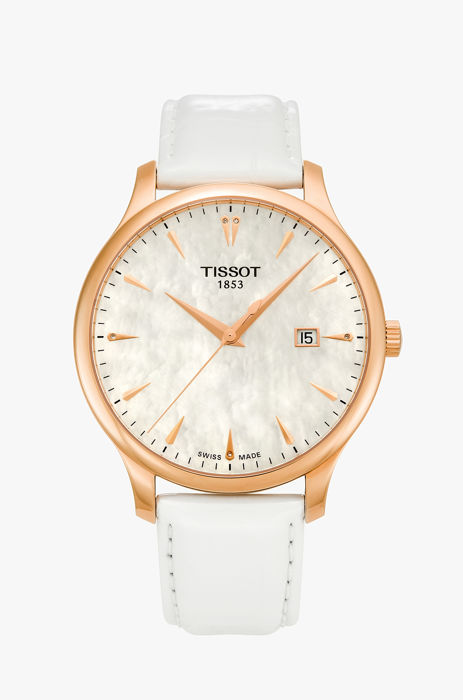 "Tissot - Tradition Leather Ladies Watch ""NO RESERVE PRICE"" - T0636103611601 - Damen - 2011-heute"
