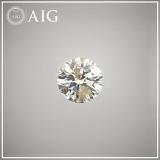Diamante - 0.26 ct - Redondo - J - SI2, No Reserve Price