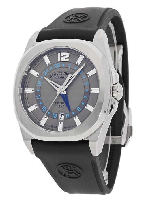 Armand Nicolet - A653AAA-GR-GG4710N - J09-2 GMT Automatik - Hombre - 2011 - actualidad