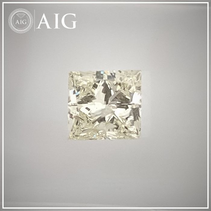 Diamant - 0.65 ct - Prinzess - K - SI2