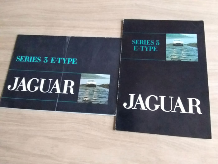 Brochures / Catalogi - Jaguar - Series 3 E-Type - 1971-1971