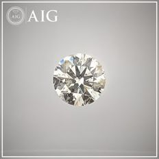 Diamante - 0.42 ct - Redondo - H - SI2, No Reserve Price
