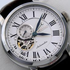 """Seiko - - """"NO RESERVE PRICE"""" - 24 Jewels """"Open Heart"""" - - Homme - 2011-aujourd'hui"""