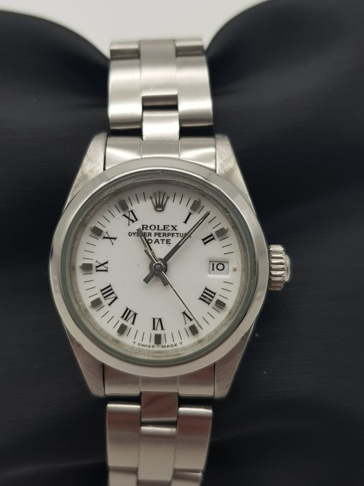 """Rolex - Oyster Perpetual Date """" NO RESERVE PRICE """" - 69160 - Dames - 1990-1999"""