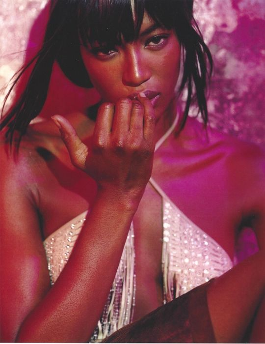 Bettina Rheims (1952-) - Naomi Campbell, Paris, 1999
