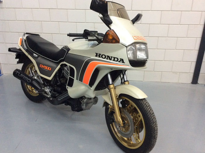 Honda - CX 500 Turbo - 500 cc - 1983