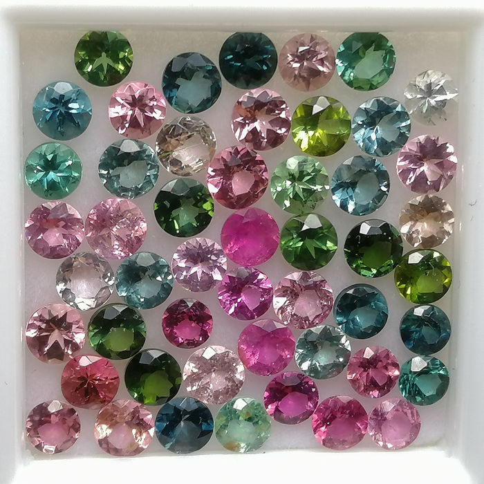 50 pcs  Turmalin - 5.70 ct