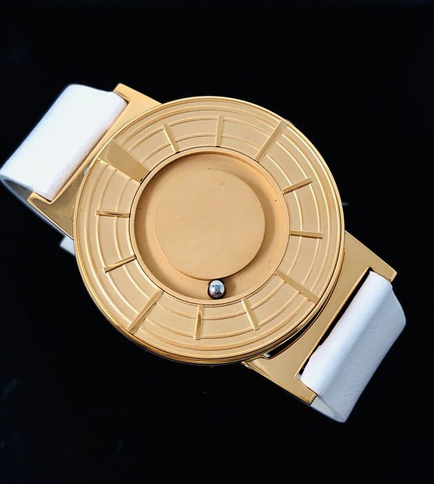 Eone - Bradley Edge Rose Gold with Italian Leather Strap Swiss Movement - BR-EDGE-RO - Unisex - 2011-heden