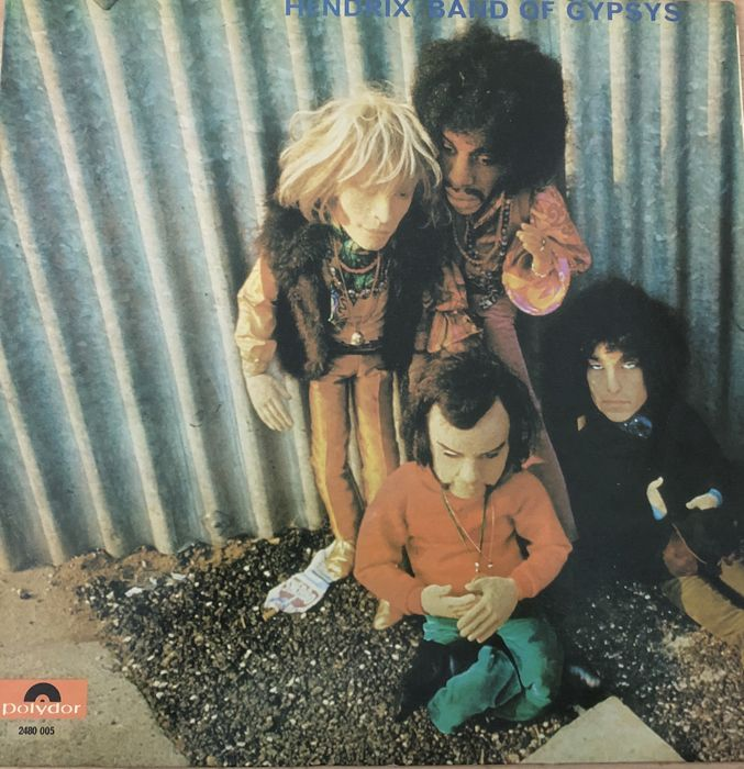 Jimi Hendrix' Band Of Gypsys - Band Of Gypsys The Puppet Cover - LP Album - 1970/1970