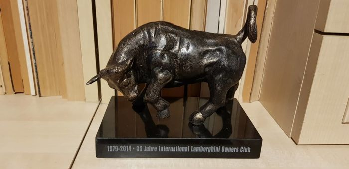 Decorative Object Lamborghini Bull Bronze Statue 2014 Catawiki