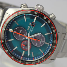 "Seiko - ""NO RESERVE PRICE"" Chronograph  - SSC717P1 Solar Powered - Herre - 2011-nå"
