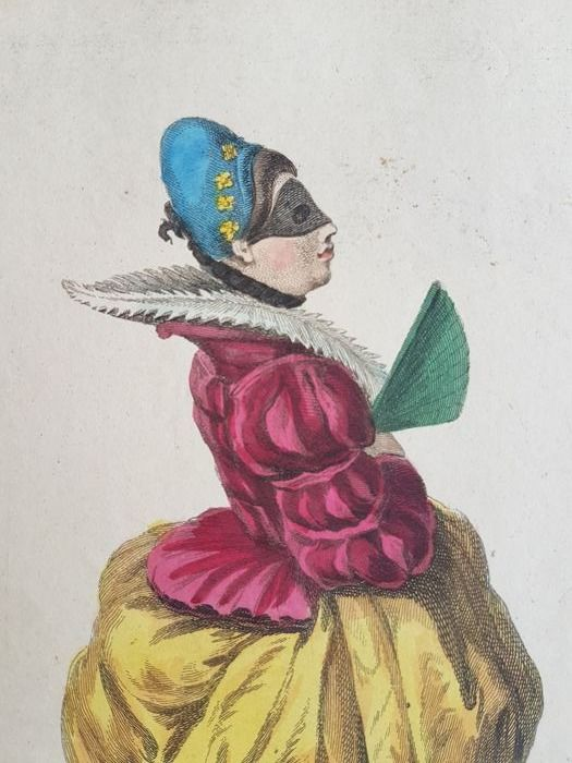 Ten engraved hand-coloured vignettes by Charles Ferriol (1637-1722) - A collection of the dresses of different nations