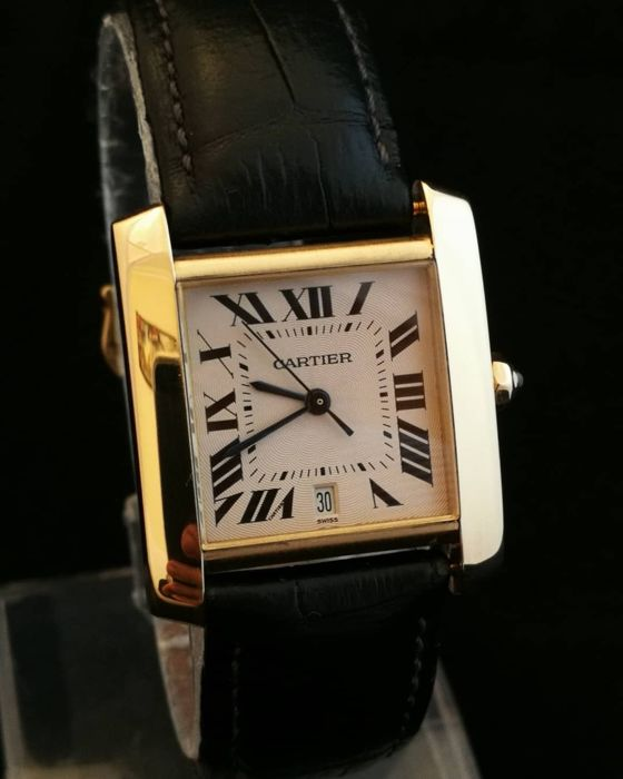 Cartier - Tank Francaise - 18K Gold - 1840 - Unisex Watch - 2000-2010