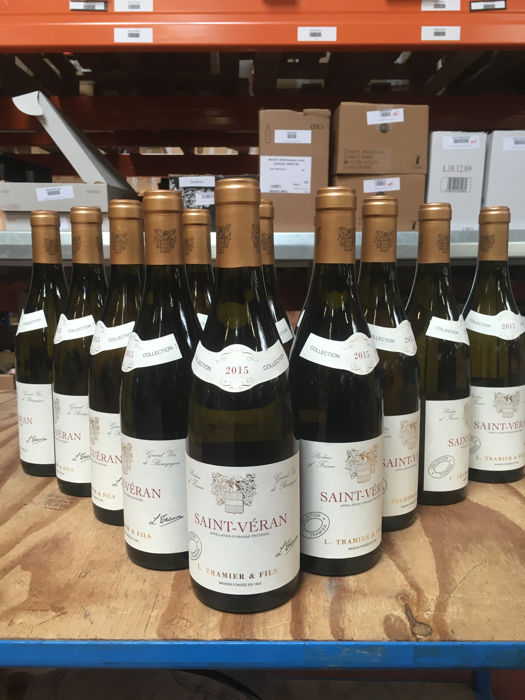 2015 Laurent Dufouleur - Saint-Véran, white Burgundy - 12 Bottles (0.75L)
