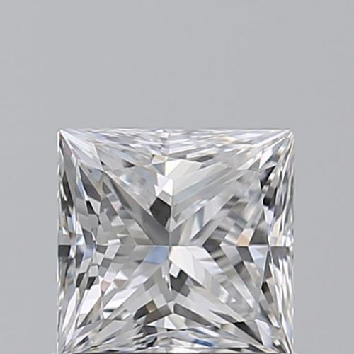 1 pcs Diamant - 0.80 ct - Prinzess - D (farblos) - IF (makellos)