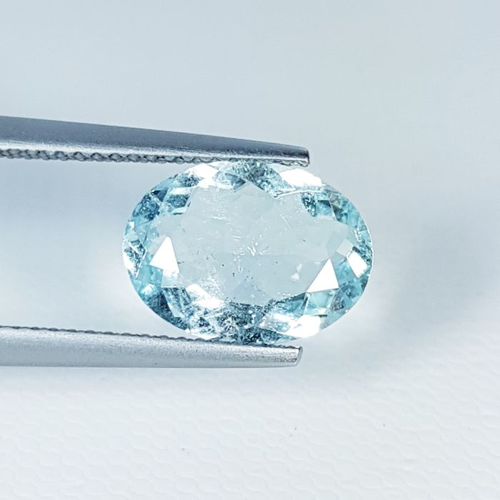 Blue, Green Aquamarine - 2.72 ct