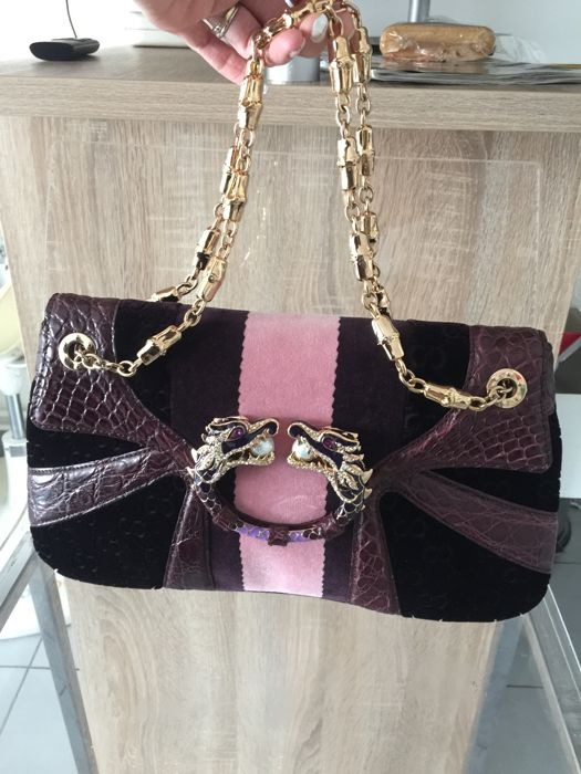 54dadd9390f Gucci - Limited Edition Violet GG Tom Ford Dragon Shoulder bag ...