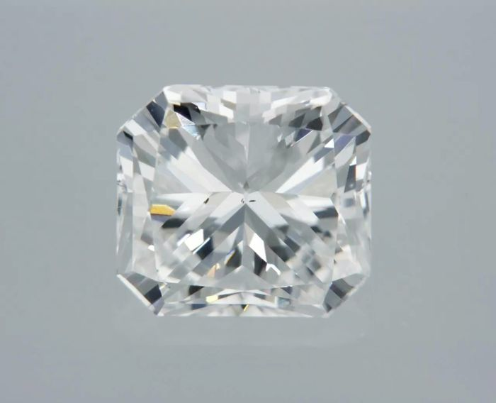 1 pcs Diamant - 1.03 ct - Radiant - D (kleurloos) - VS1