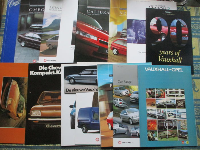 Brochures / Catalogues - Vauxhall - 1972-2002