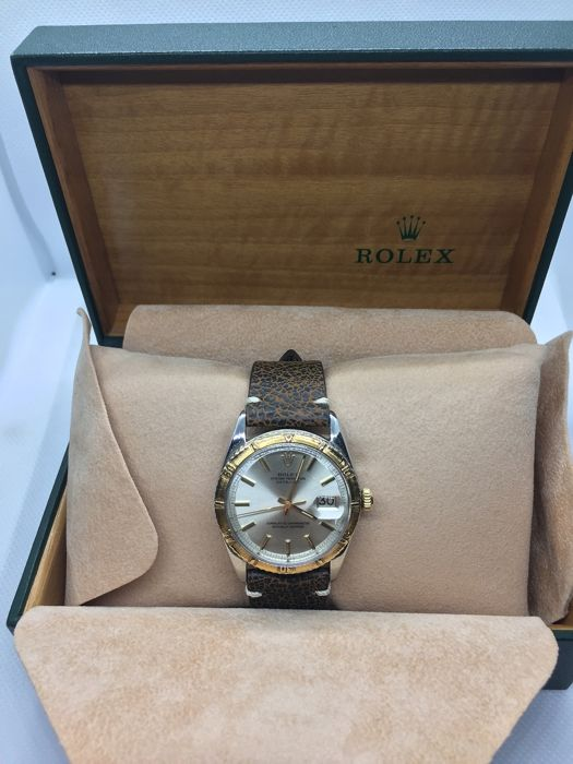 Rolex - Turn O Graph - Date Just - Referenza 1625 - Unisex - 1960-1969