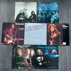 TASTE & RORY GALLAGHER - A stunning Collection of 7 Albums of this Legendary  Irish Guitarist from the Seventies and Eighties - LP's - 1970/1980