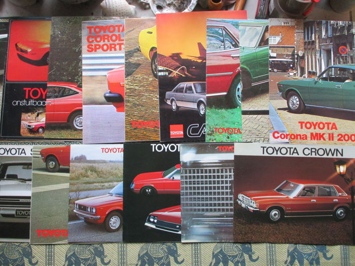 Brochures / Catalogues - Toyota - 1971-1979